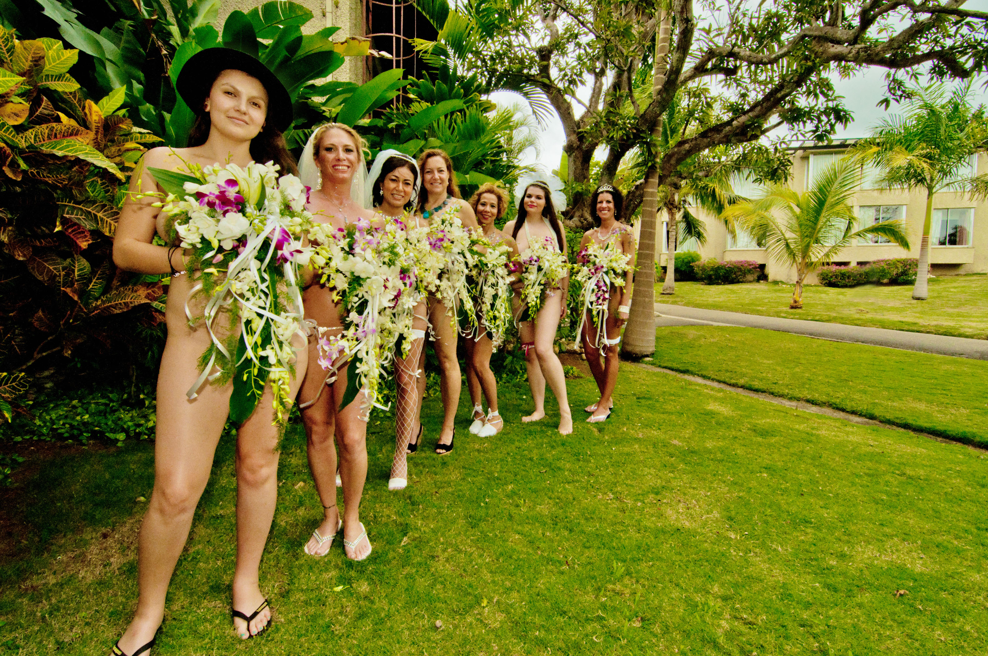 Hedonism Nude Wedding – Girls Only