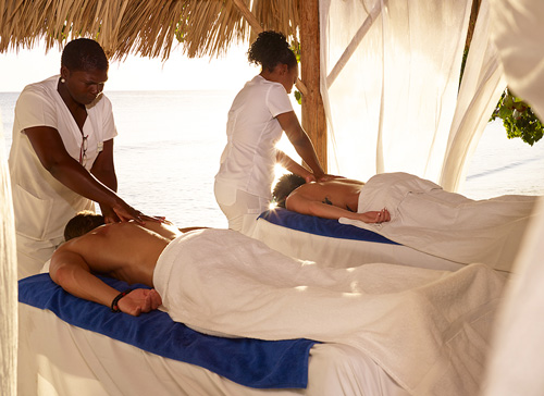 Sunrise Sunset Couples Massage - Hedonism II