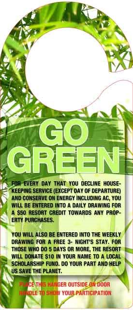 GO GREEN Initiative launched by Hedonism II