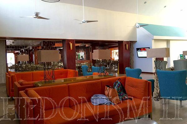 The newly renovated lobby - Hedo II