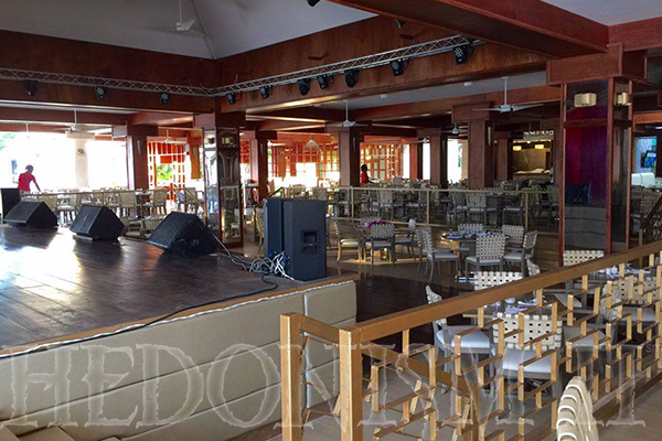 Newly Renovated Stage and Main Dining Room - Hedo II