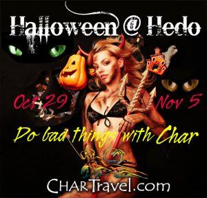 Char Travel Halloween