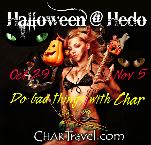 Char Travel Halloween
