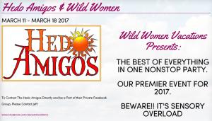 wild women vacations Hedonism