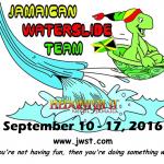 Jamaican Waterslide team