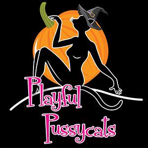PlayfulPussycatsLogoHalloweenSquare