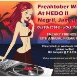 Freaktoober Week Hedonism
