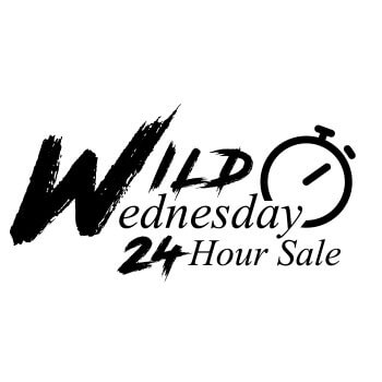 Wild Wednesday 24hr Flash Sale