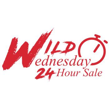 Wild Wednesday 24hr Flash Sale