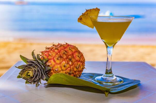 pineapple-martini
