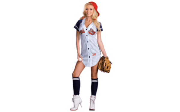 Nice Have A Little Pun Fun This Halloween With This Sexy Sporty Baseball Costume  That Lets Everyone Know You Came To Swing!