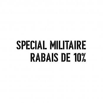 Special militaire rabais de 10%