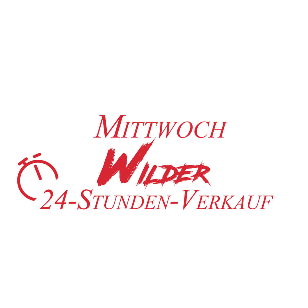 Wilder Mittwoch 24h Flash Sale