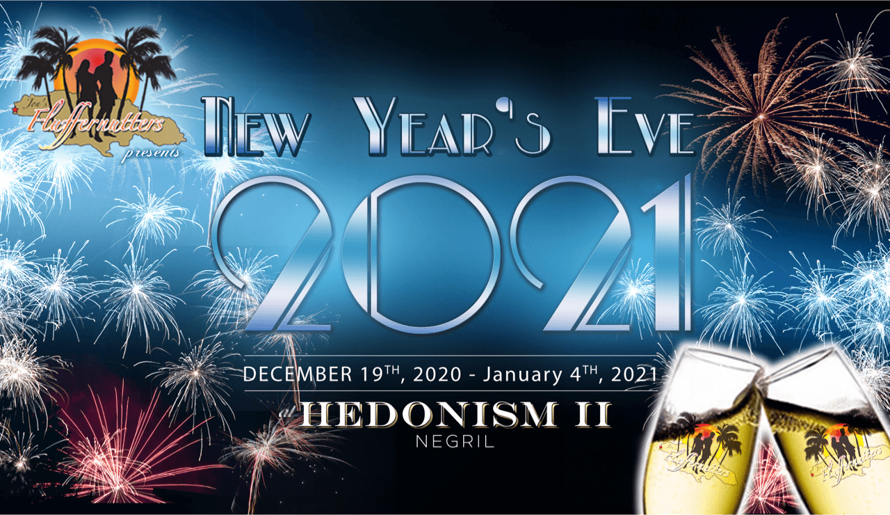 New Years at Hedo II 2020/2021 with FLUFFERNUTTERS - Hedonism II
